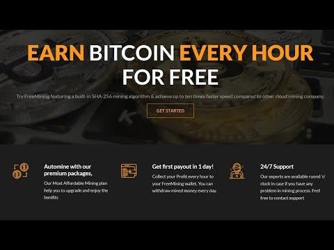 Free Bitcoin Cloud Mining & Earn Free BTC every hour