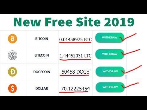 New Free Bitcoin Cloud Mining Site Free Signup Bonus & Zero Investment 2019