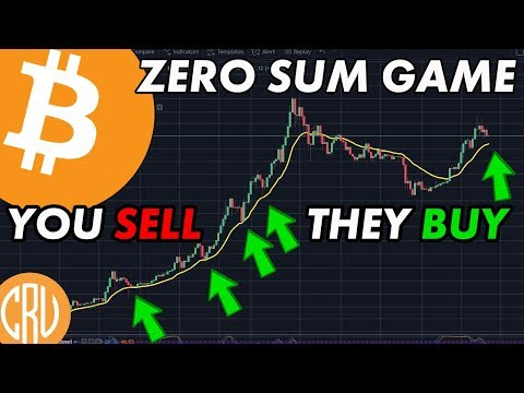 Bitcoin is ZERO SUM Game - You Sell They Buy