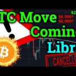 🛑Bitcoin BIG Move Coming! 🛑Bullish/Bearish? Libra Cancelled?! (Cryptocurrency News + BTC Trading)