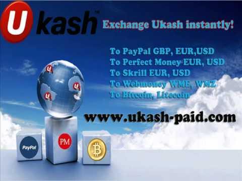 Ukash PayPal vahetada. PayPal müügiks. PayPal, kus Ukash koheselt.