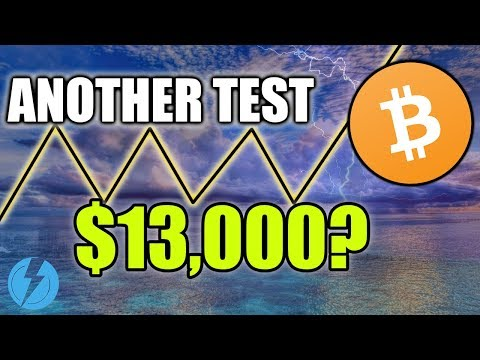 BITCOIN NEXT MOVE - CAN BTC TEST $13k AGAIN?