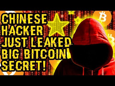 What BITCOIN SECRET Did This CHINESE HACKER JUST LEAK? This Is SHAKING The MARKET In MAJOR UPSET!