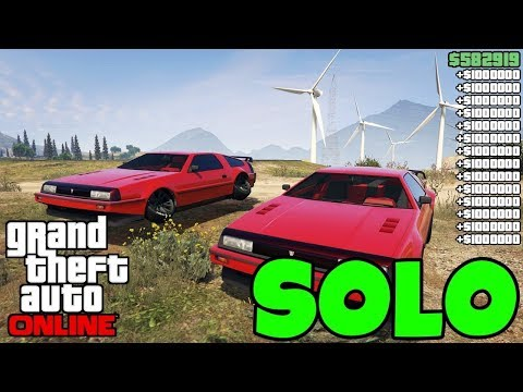 *NEW* Gta 5 Online Money Glitch That Is SOLO... (Unlimited Money) 100% WORKING