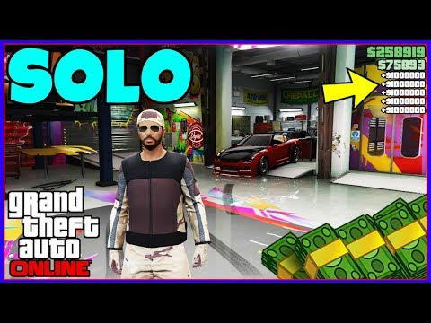 It's A SOLO Gta 5 Online Money Glitch That's Simple... (Unlimited Money For Everyone)