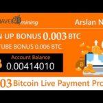 Confiavelmining New Free Bitcoin Mining Site | Signup Bonus 0.003 Bitcoin Live Payment Proof 2019