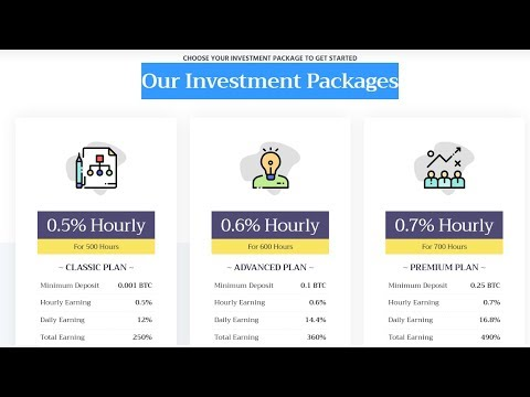 HOT: Fast hourly earning | Bitcoin Mining 2019 | Best sites | New project