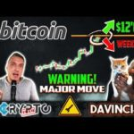 DavinciJ15 – Bitcoin BREAKOUT $12'000 THIS Weekend?!!