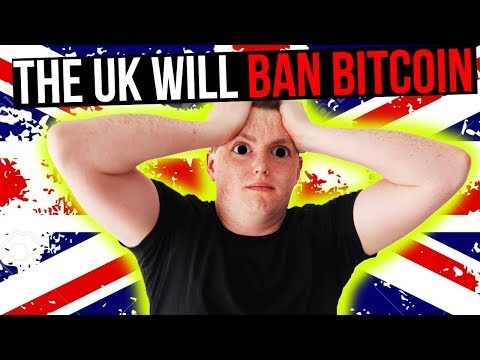 THE UK WILL BAN BITCOIN BECAUSE IT HAS NO INTRINSIC VALUE