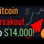 BITCOIN HEADED FOR $14,000! Bitcoin More Popular Than STOCKS?