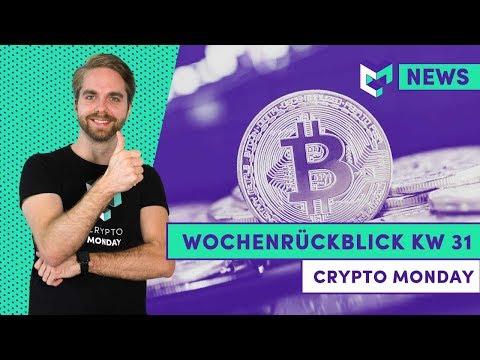 Wochenrückblick KW 31: Bitcoin über 10.000 USD | Bitcoin Prognosen | Bitcoin Whales | Ripple