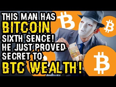 This Man HAS BITCOIN SIXTH SENSE! He Just PROVED Secret To BTC Wealth In 10 Days. All EXPERTS AGREE?