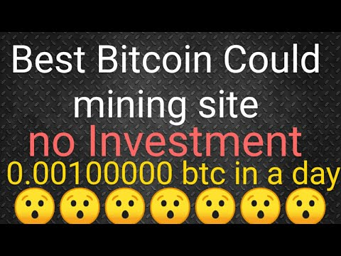 New free Bitcoin cloud Mining site 2019 no Investment earn free btc