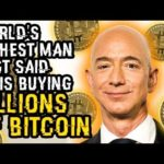 WORLD'S RICHEST MAN Just Said He's BUYING BILLIONS Of BITCOIN – Why You MUST BUY Before He BUYS ALL!