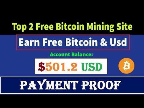 BEST Old 2 Free Bitcoin Mining Sites Payment Proof | Signup Bonus 200 Gh/s | Free Earn Bitcoin