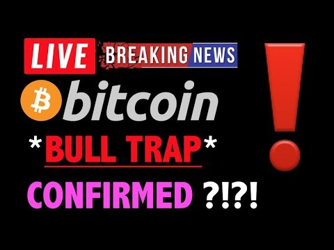 Bitcoin *URGENT* BULL TRAP CONFIRMED?!❗️LIVE Crypto Trading Analysis & BTC Cryptocurrency Price News