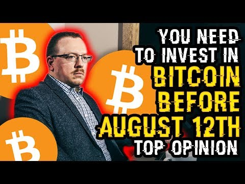 """You NEED To INVEST In Bitcoin BEFORE AUGUST 12th!"" Why You NEED To Hear This MATH MAN'S NEW OPINION"