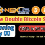 Nexustrade.co||New Double Bitcoin Mining Site||Double Your Bitcoin In 24 hours _Technical Durjoy