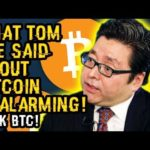WHAT TOM LEE Just SAID ABOUT BITCOIN In SEPTEMBER Is ALARMING Buy AMAZING At The SAME TIME! $40K BTC