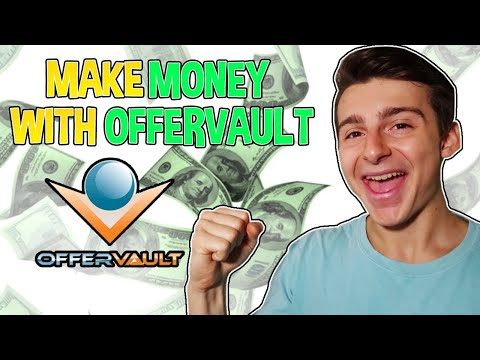 HOW TO MAKE MONEY ONLINE WITH OFFERVAULT (Plus 5 Traffic Generation Strategies)