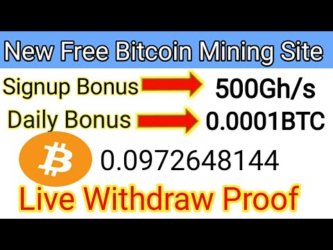 New Free Bitcoin Cloud Mining Site   New Free Bitcoin Mining site   Free Bitcoin Cloud Mining 2019