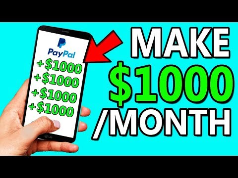Earn $1000 PER MONTH From Your Phone - Make Money Online