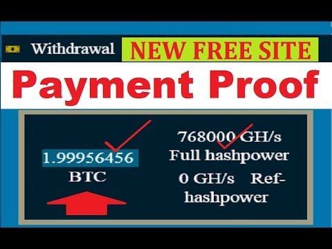 NEW FREE BITCOIN CLOUD MINING SITE | FREE BITCOIN MINING SITE | NEW FREE CLOUD MINING SITE 2019