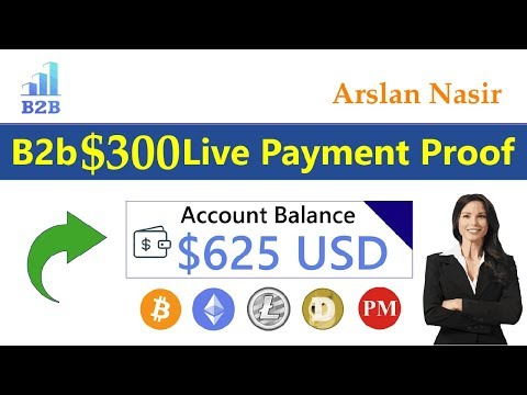 B2business.ltd New Free Bitcoin Mining Site Real Or Fake Live Withdrawal Payment Proof Urdu Hindi
