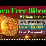 Earn Free Bitcoin Every Minute Life Time || Ads Watching jobs || Earn Free Btc