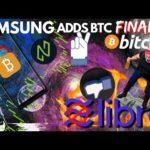 HUGE: Samsung Adds BITCOIN | Facebook Libra | BTC Correction | Nuls Reward Model