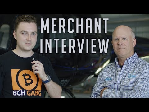 Bitcoin Cash Merchant Interview - Townsville Helicopters