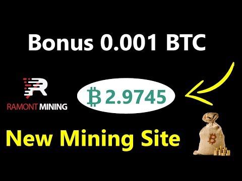 Ramont Mining Limited | New Bitcoin Mining Site 2019 | Signup Bonus 0.001 Bitcoin Live in Urdu Hindi
