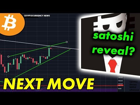 Bitcoin NEXT Move | Satoshi Nakamoto Reveal? [Cryptocurrency News]