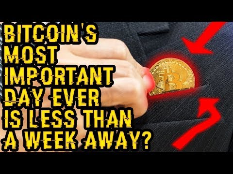 BITCOIN'S Most IMPORTANT DAY EVER Is LESS THAN A WEEK AWAY? Why SEPTEMBER To Be MASSIVE For 1 REASON