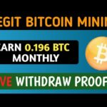 New Legit Bitcoin Mining 2019 | FREE BTC Mining Site Live Payment Proof