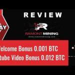 Ramont Mining Limited!  New Bitcoin Mining Site 2019 ! Sign-up Bonus 0.001