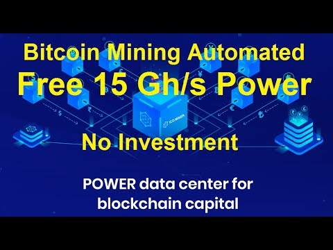 Bitcoin Mining | Free 15 Gh/s | Automated Mining | No Investment