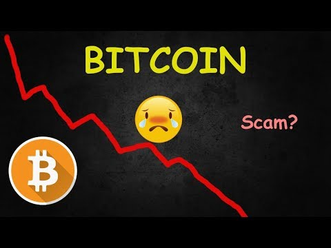 Is Bitcoin And Cryptos A Scam? - Huge Bitcoin DROP!