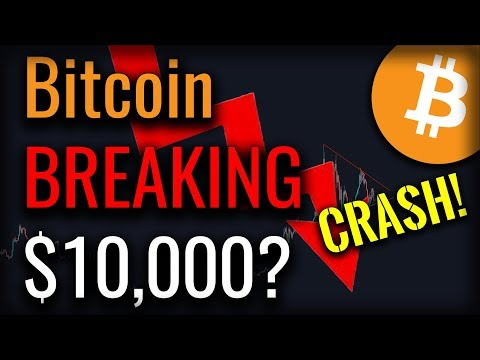 Bitcoin Headed For A Break Of $10,000? Is A CRASH Incoming?!