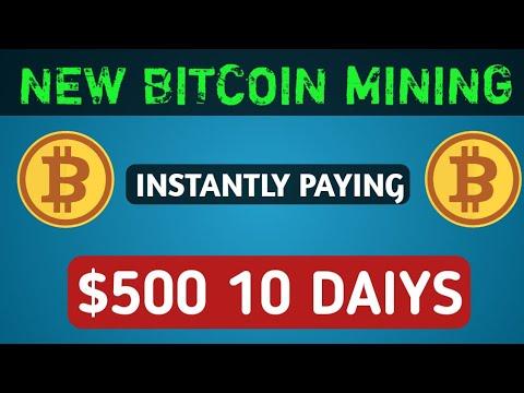 New BTC Mining Site 140% Profit | Best Bitcoin Mining Site 2019