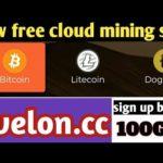 free mining. bitcoin. cloud mining.earn money avelon.cc 