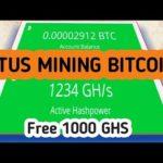 1000 GHS Gratis..!!! Situs web mining bitcoin 2019 👍  Cara mendapatkan uang