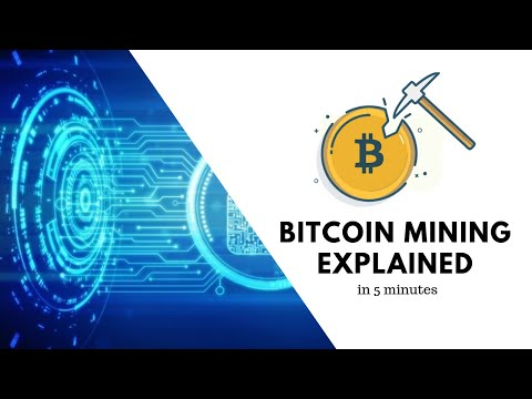 Bitcoin Mining Explained in 5 Minutes