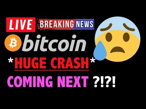 Bitcoin & ALT COINS *HUGE CRASH NEXT?*❗️LIVE Crypto Trading Analysis & BTC Cryptocurrency Price News