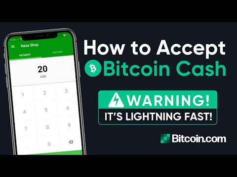 Tutorial: How To Accept Bitcoin Cash In Your Store With The Bitcoin Cash Register (BCH)