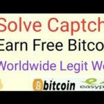 Earn Free Bitcoin Worldwide Legit Website || Solve Captcha Job