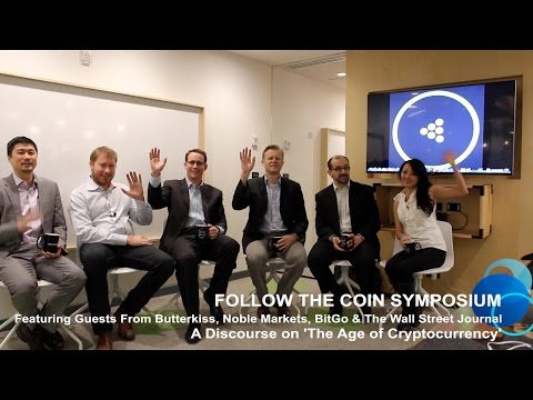 FOLLOW THE COIN SYMPOSIUM: A Discourse on 'The Age of Cryptocurrency'