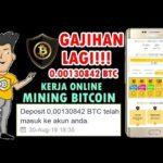 TARIK GAJIH LAGI DARI WEB MINING BITCOIN (30 Agustus 2019)
