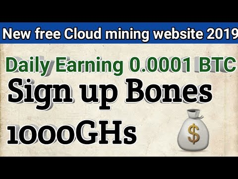 How to free cloud mining website  2019  easy and bast earning ways by Abid STV