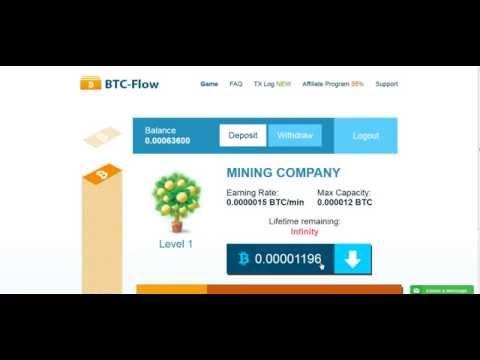 Мега прибыльный сайт для сбора Bitcoin
